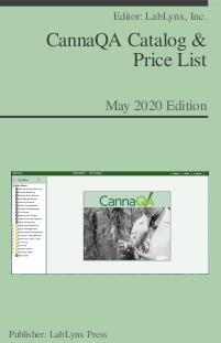 CannaQA Catalog & Price List